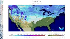 Weather Usa Map Us Weather Map Snow Cover Maps Of Usa