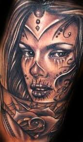 image result for tattoos of beautiful faces tatoos