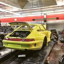 rwb porsche yellow rdbla u2013 rwb porsche build rdb la five star tires full auto