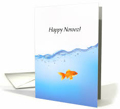norooz cards farsi goldfish in water happy norooz card fishie in the big