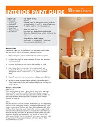 interior paint guide porter paints pdf catalogues