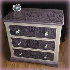 Bedroom Furniture Painted With Chalk Paint Gorgeous Chalk Painted Dresser In Beautiful Eggplant And Beige