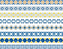Tile Borders Decorative Moroccan Borders Vector Image 31965 U2013 Rfclipart