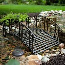 yard bridge metal garden bridges metal garden pond bridge decorative rails
