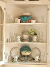 Corner Dining Room Hutch My Corner Dining Room Cabinet Country French Cottage Inspired