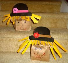 mom to 2 posh lil divas fall kids craft mr u0026 mrs scarecrow