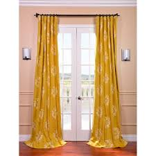 cheap yellow martha stewart curtains with wall sconces and cozy