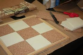 father u0027s day diy cork and magnetic board