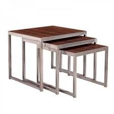 End Tables Designs Nested End Tables Woods Ideas Design Stacking
