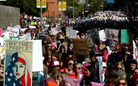 live coverage women u0027s march los angeles and other protests