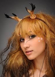 fawn headband deer horns fawn headband