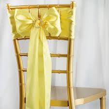 chair ties balsacircle 5 new satin chair sashes bows ties wedding party