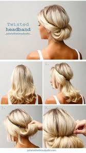 10 updo hairstyle tutorials for medium length hair easy chignon