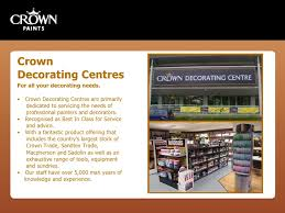Crown Decorating Centre Jobs Crown Paints Opening Doors Event Introduction