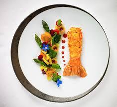site de cuisine gastronomique l amour entre des langoustines est le chef gastronomique
