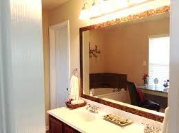 Large Rectangular Bathroom Mirrors Frames For Large Bathroom Mirrors Mirror Makeover Large Framed