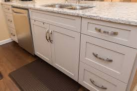 shaker style kitchen island white shaker style kitchen cabinets with shiplap style island