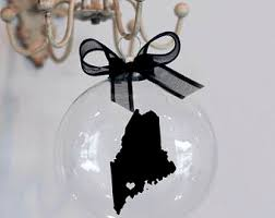 maine ornaments etsy