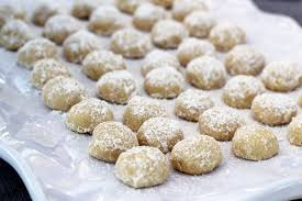 wedding cookies this week for dinner nut free mexican wedding cookies archives