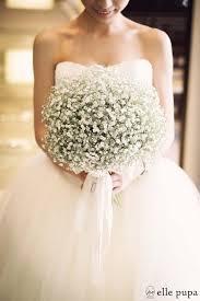 baby s breath bouquets baby s breath wedding inspiration millesime