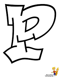 letter p coloring pages getcoloringpages com