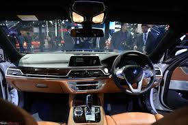 Bmw 7 Series 2016 Interior Next Gen Bmw 7 Series Launched Auto Expo 2016 Team Bhp