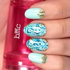 pink u0026 gold metallic foil nail art stickers festival u2013 bundle