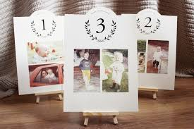table numbers with pictures diy wedding table numbers the little koala bloglovin