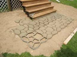 Backyard Pavers Diy Pavers How To Build A Paver Patio Backyard Pavers Diy Patio As