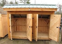 suncast trash can storage shed trash storage shed five modern