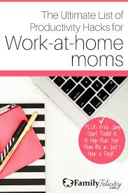 How To Write Resume After Staying At Home Mom 14903 Best Work At Home Resources Images On Pinterest