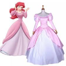 Princess Ariel Halloween Costume Aliexpress Buy Fairytale Movie Mermaid Princess