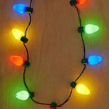 giant holiday light up bulb necklace from urban outfitters epic