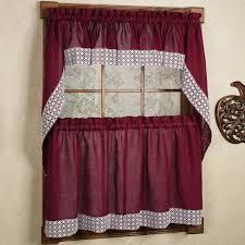 kitchen curtains burgundy kitchen curtains burgundy kitchen