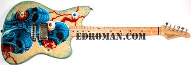 custom shop paint gallery roman guitars