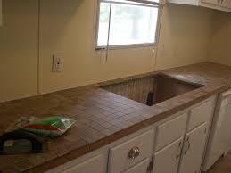 Tile Kitchen Countertops Kitchen Dazzling Tile Kitchen Countertops Over Laminate 1 Tile