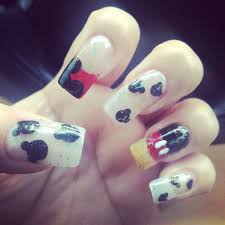 mickey mouse nail art 2015 reasabaidhean