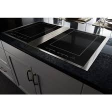 Downdraft Cooktops Jid4436esjenn Air 36 Downdraft Induction Cooktop Stainless Black