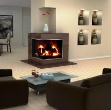 corner electric fireplace design popular dining room model new in