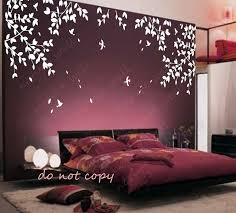 tree with birds decals kids wall decals baby decal nursery decal