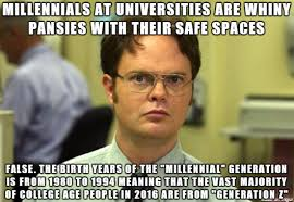 Meme Fuck Off - fuck off with your shit about millennials we are not your enemy