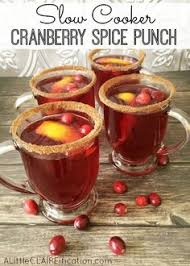 sparkling cranberry punch the beverage for a non