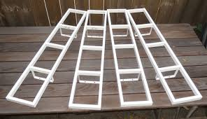 Dvd Rack Ikea by White Ikea Lerberg Metal Wall Mount Dvd Storage Shelf Rack