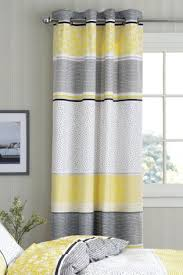 Purple And Cream Striped Curtains Blackout Curtains Cotton Velvet U0026 Check Blackout Curtains Next