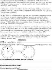 telling time worksheets enchantedlearning com
