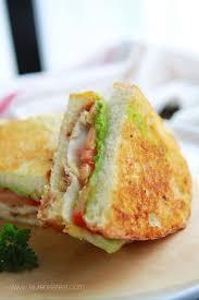 California Club Grilled Cheese Sandwich Recipe