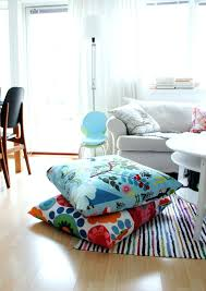 Large Outdoor Floor Pillows by Large Outdoor Floor Cushions Uk For Seating Suzannawinter Com