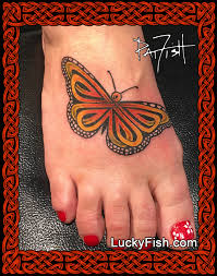 celtic monarch butterfly design luckyfish inc and