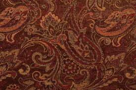 m7789 chenille tapestry upholstery fabric in pecan