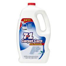 Home Depot Rug Shampooer Rental 7 In 1 Carpet Care 128 Oz Carpet Cleaner Pro Formula 6033 The